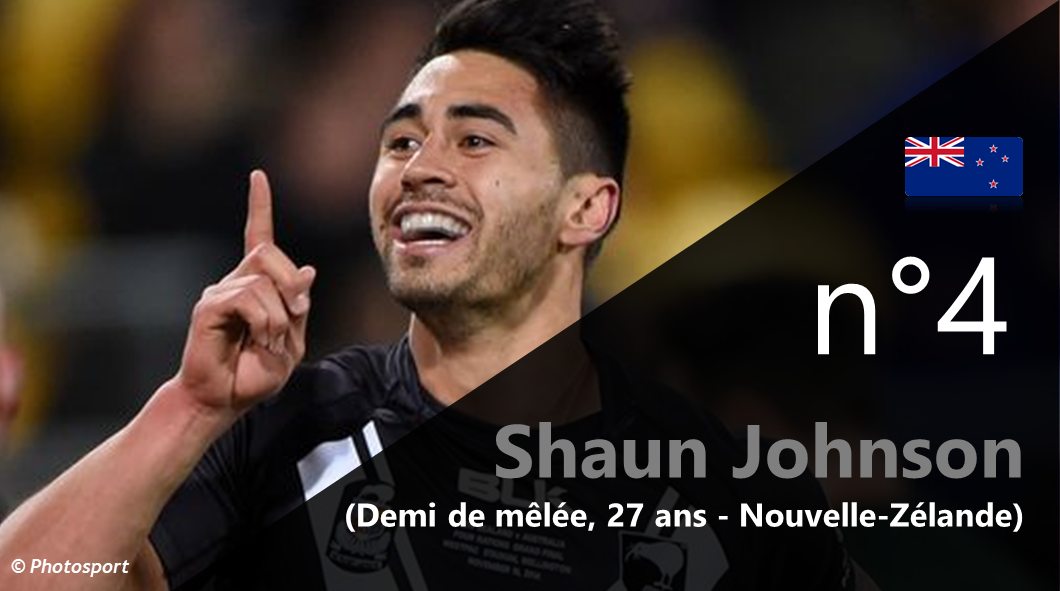 4 - Shaun Johnson