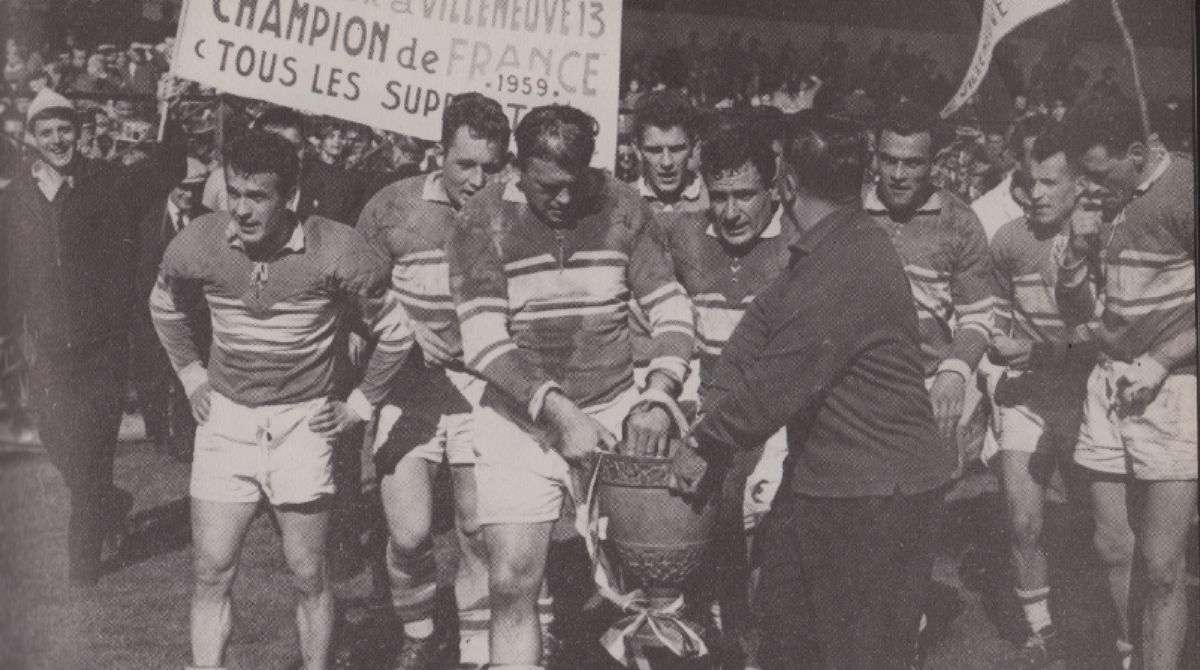Finale du championnat de France rugby à XIII 1959