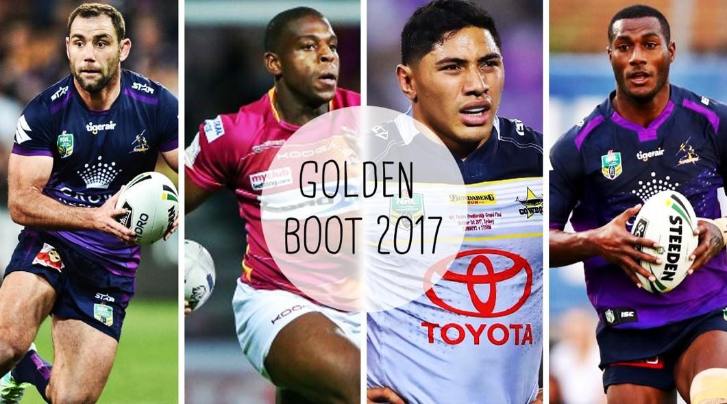 GOLDEN BOOT 2017