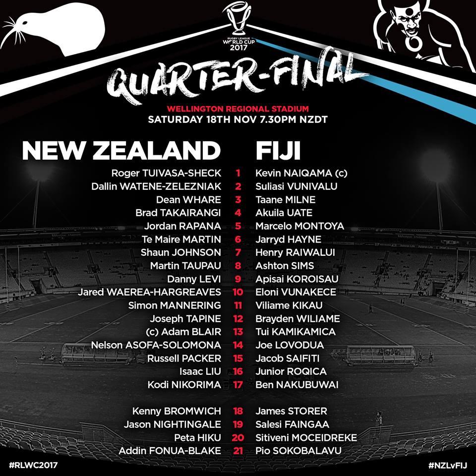 compositions Nouvelle-Zélande Fidji