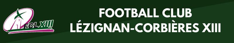 Bandeau FC Lezignan XIII