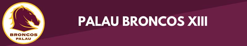 Bandeau Palau Broncos