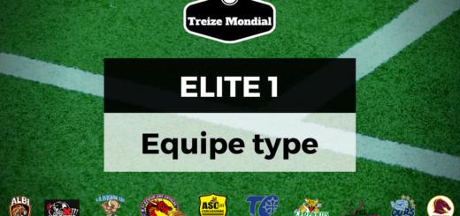 Equipe type du début de saison d'Elite 1