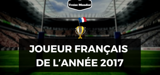 JOUEUR FRANCAIS DE L'ANNEE 2017