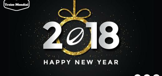 Nouvelle année 2018 Rugby à XIII - Treize Mondial