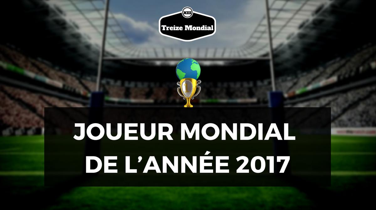 JOUEUR MONDIAL DE L'ANNÉE 2017
