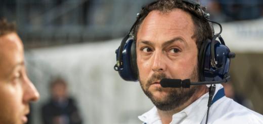 Renaud Guigue entraineur SO Avignon