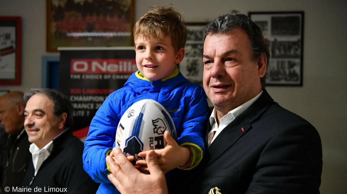 Marc Palanques : «Offrir un ballon à chaque enfant des écoles de rugby à XIII»