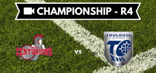 Résumé vidéo Leigh Centurions vs Toulouse Olympique