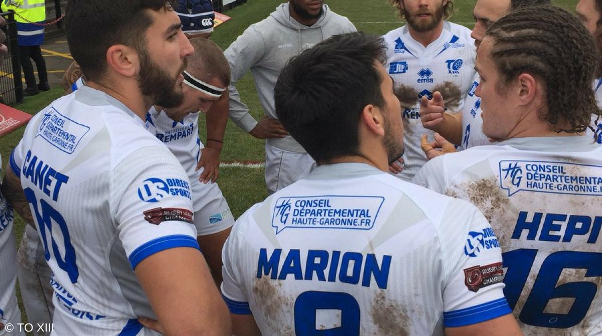 Championship 2018 - Toulouse s'impose à Dewsbury