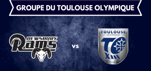 Dewsbury Rams vs Toulouse Olympique - Le groupe du TO XIII