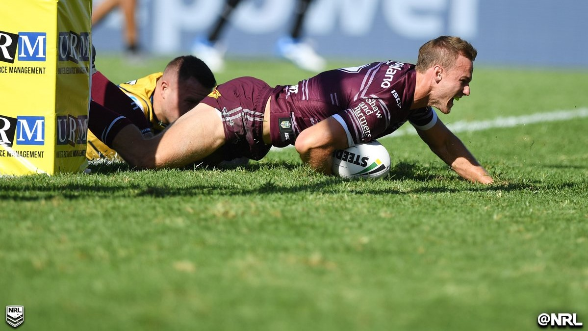 Manly Sea Eagles- NRL 2018 R2