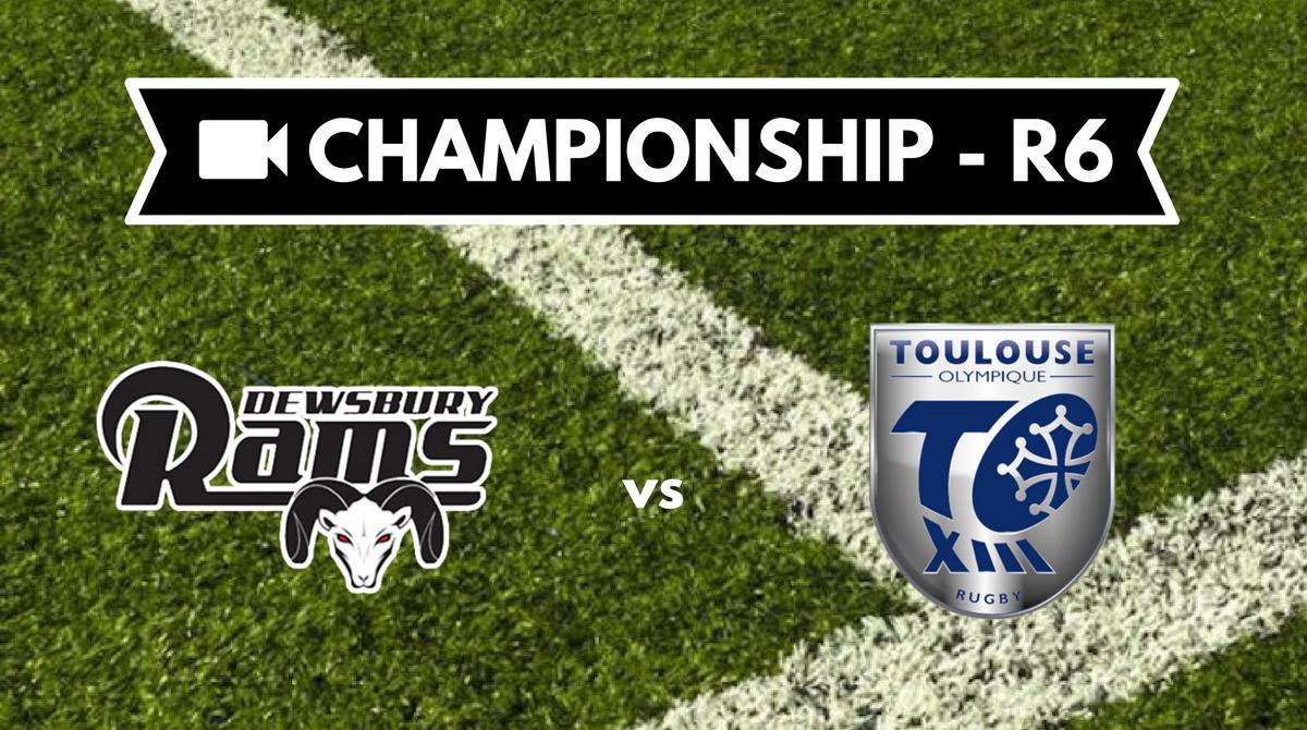 Résumé vidéo Dewsbury Rams vs Toulouse Olympique