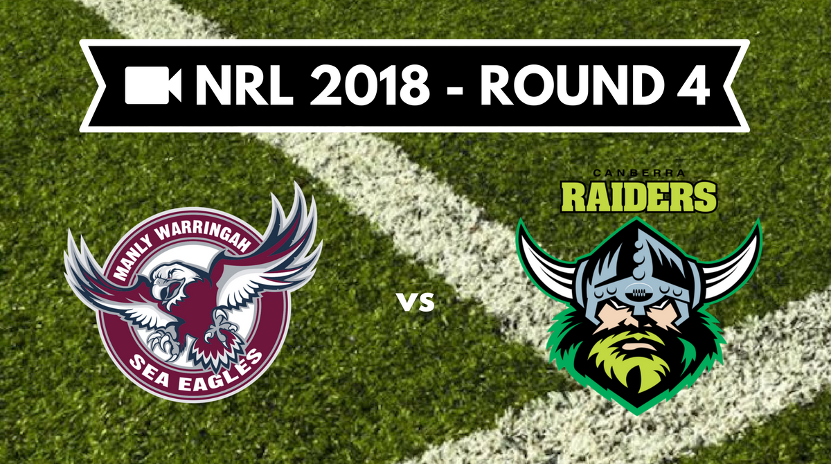 Résumé vidéo Manly Sea Eagles vs Canberra Raiders