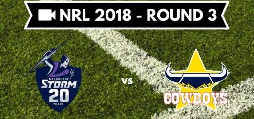 Résumé vidéo Melbourne Storm vs North Queensland Cowboys