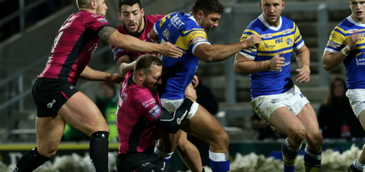 Super League 2018 5ème journée Leeds Rhinos
