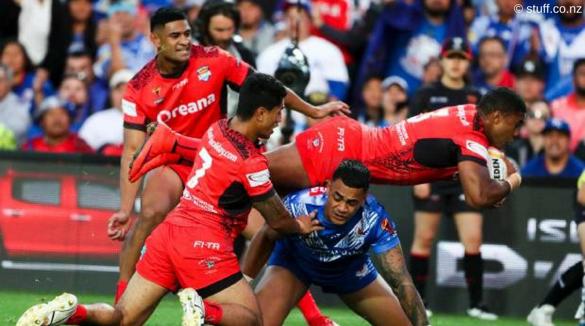 Tonga Samoa rugby league