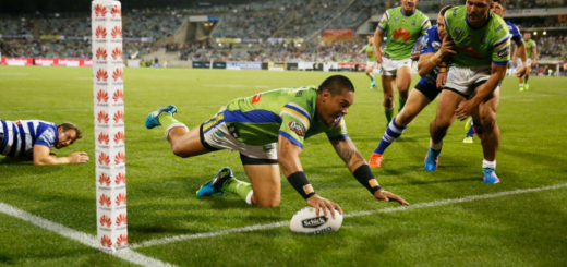 CANBERRA RAIDERS vs CANTERBURY BULLDOGS