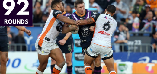 Melbourne Storm 92 Rounds Top 8