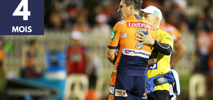 Mitchell Pearce Blessure
