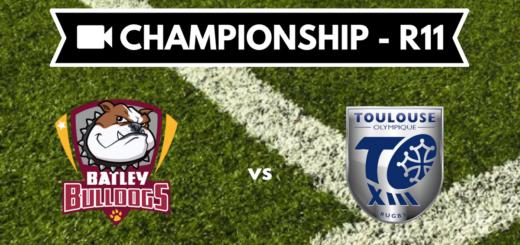 Résumé vidéo Batley Bulldogs vs Toulouse Olympique