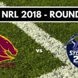 Résumé vidéo Brisbane Broncos vs Melbourne Storm