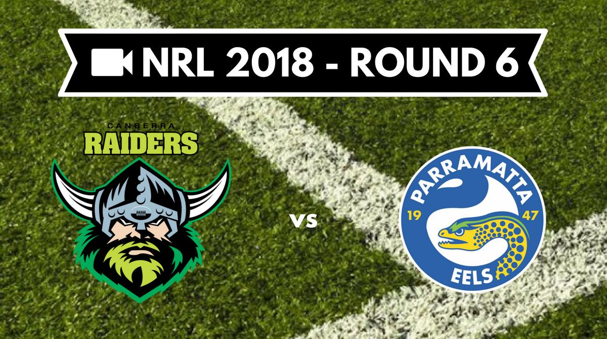 Résumé vidéo Canberra Raiders vs Parramatta Eels