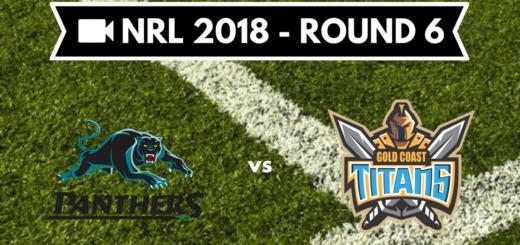 Résumé vidéo Penrith Panthers vs Gold Coast Titans