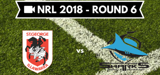 Résumé vidéo St George Illawarra Dragons vs Cronulla Sharks