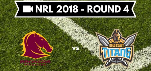 Résumé vidéo Brisbane Broncos vs Gold Coast Titans