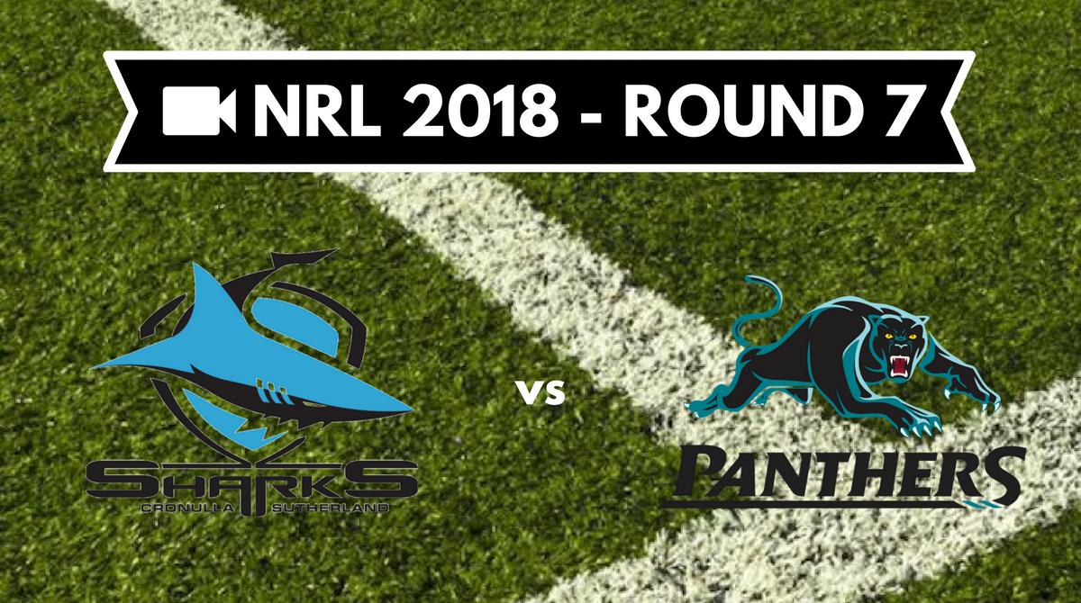 Résumé vidéo Cronulla Sharks vs Penrith Panthers