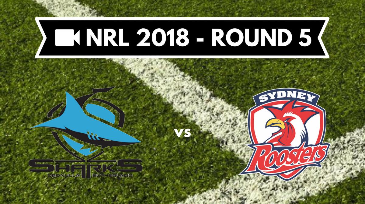 Résumé vidéo Cronulla Sharks vs Sydney Roosters