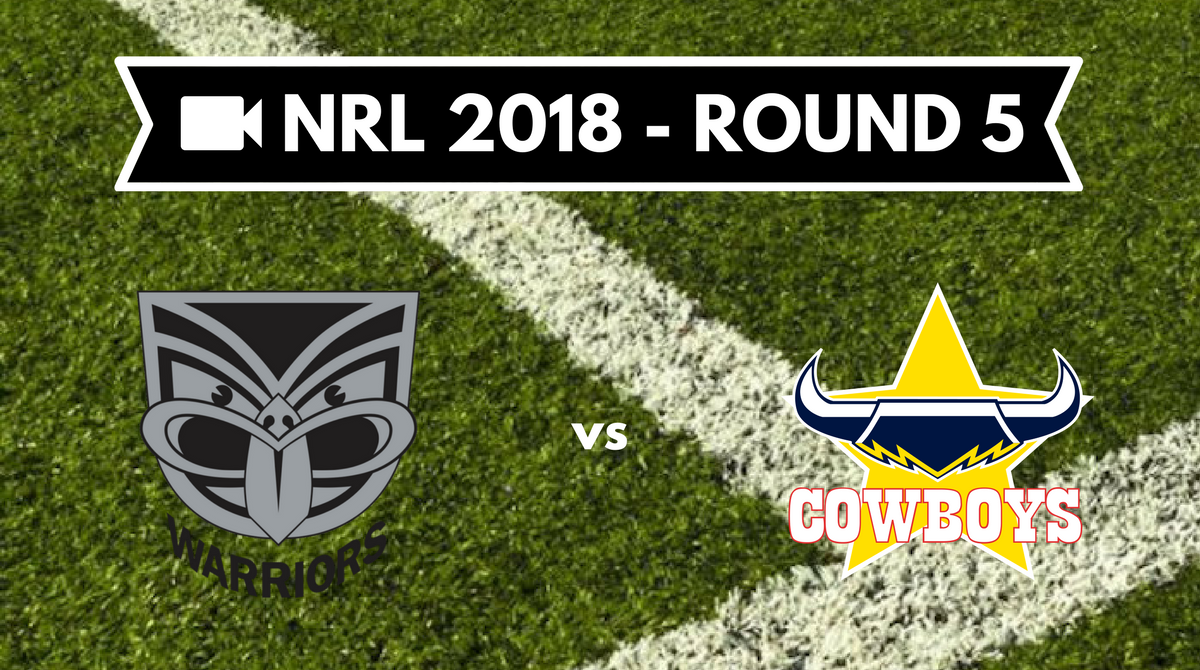 Résumé vidéo NZ Warriors vs NQ Cowboys