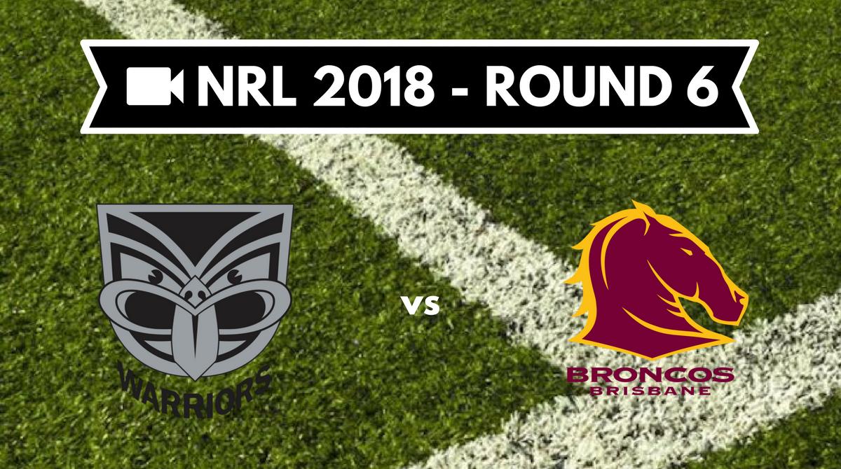 Résumé vidéo New Zealand Warriors vs Brisbane Broncos