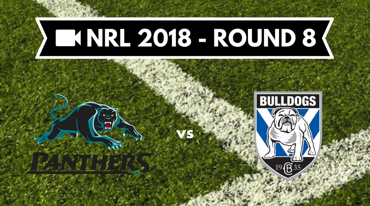 Résumé vidéo Penrith Panthers vs Canterbury Bulldogs