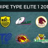 Équipe type d'Élite 1 2017-2018