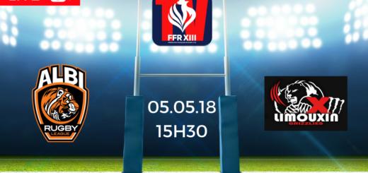 Albi RL vs XIII Limouxin - Demi-finale Coupe de France