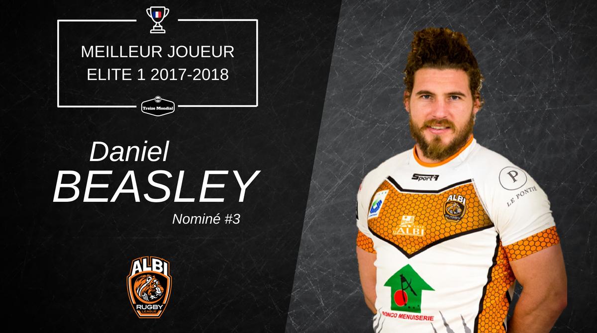 Daniel Beasley - Meilleur joueur Nominé #3