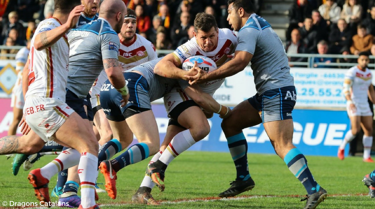 Dragons Catalans vs Huddersfield Giants Challenge Cup