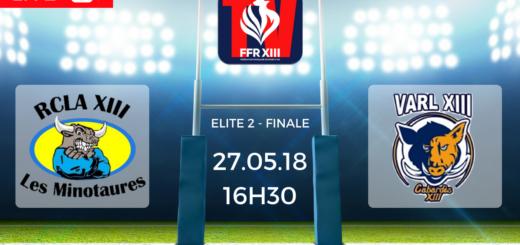 Finale Elite 2 Lescure vs Villegailhenc FFR XIII TV