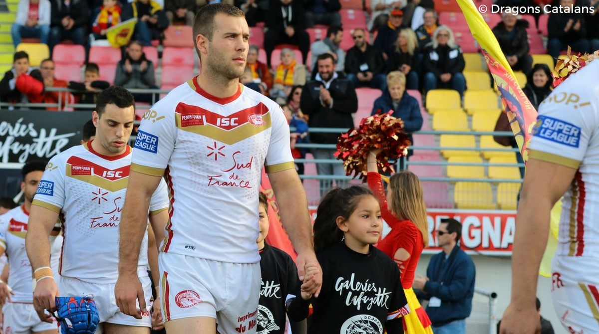 Iain Thornley - Dragons Catalans