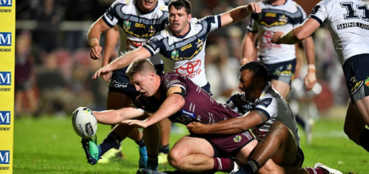 Manly Sea Eagles vs NQ Cowboys