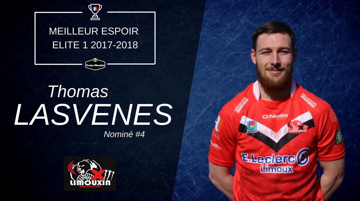 Meilleur espoir #4 Thomas Lasvenes
