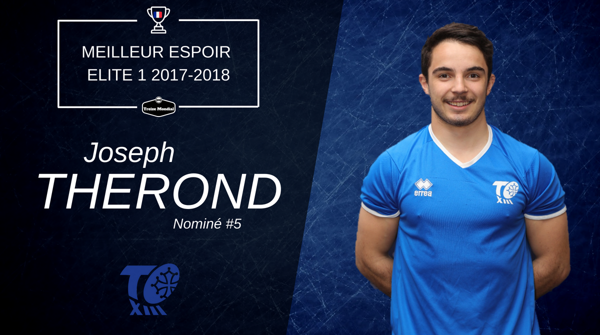 Meilleur espoir #5 Joseph Thérond