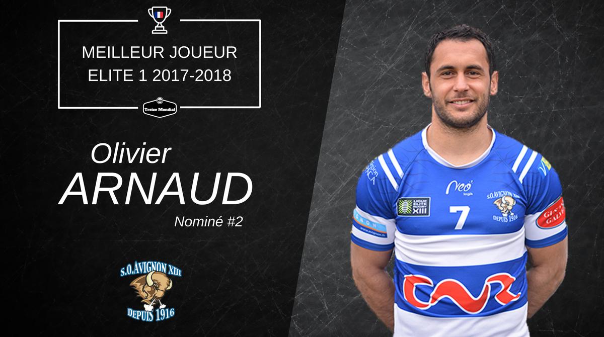 Olivier Arnaud - Meilleur joueur Nominé #2