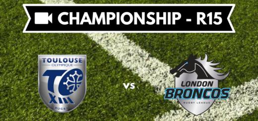 Résumé vidéo Toulouse Olympique vs London Broncos