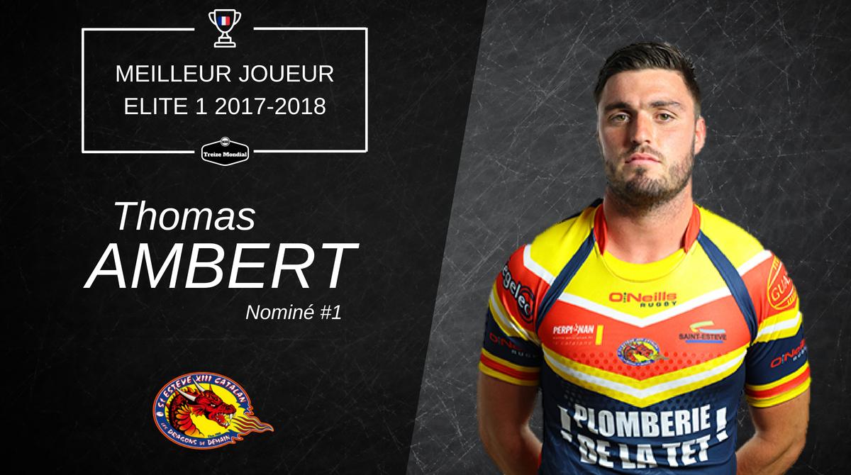 Thomas Ambert - Meilleur joueur Nominé #1