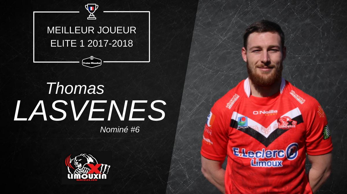 Thomas Lasvenes Nominé 6 Meilleur joueur