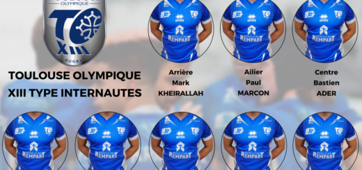 Votre XIII type du Toulouse Olympique