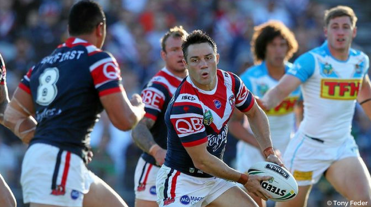 Cooper Cronk Sydney Roosters